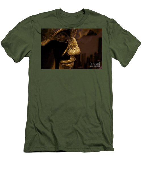 Men's T-Shirt (Slim Fit) featuring the photograph Broken Face by Xn Tyler