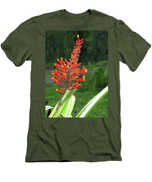 Bromeliad Men's T-Shirt (Athletic Fit)