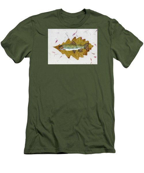 Brook Trout Men's T-Shirt (Slim Fit) by Ralph Root