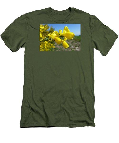 Broom In Bloom 4 Men's T-Shirt (Slim Fit) by Jean Bernard Roussilhe