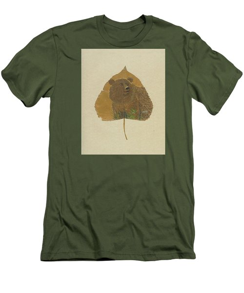 Brow Bear #2 Men's T-Shirt (Slim Fit) by Ralph Root