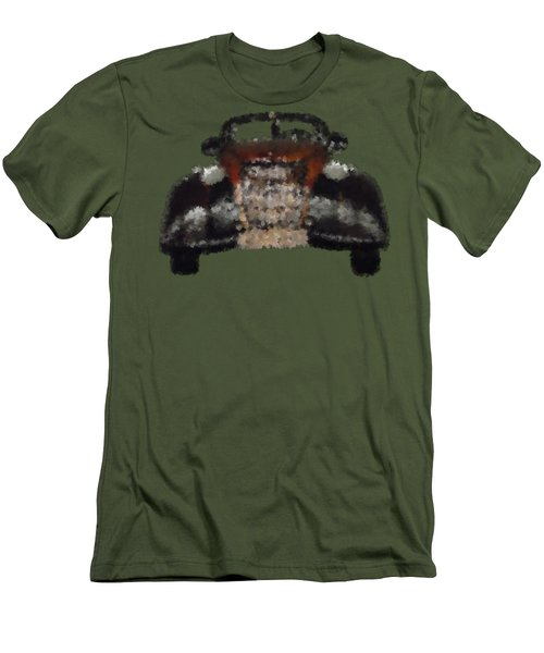Brown Car Men's T-Shirt (Slim Fit) by David and Lynn Keller