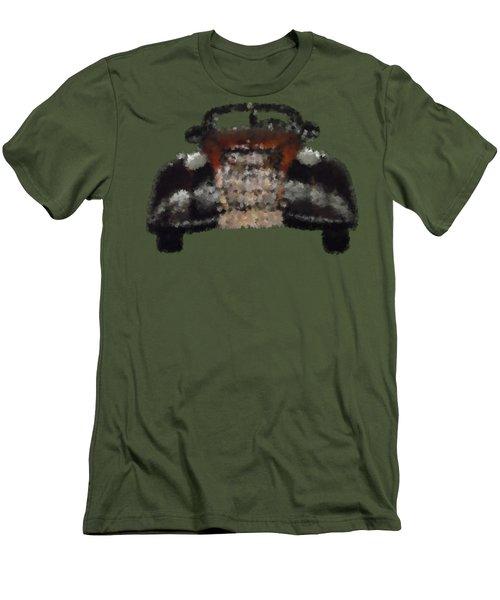 Brown Car Men's T-Shirt (Athletic Fit)
