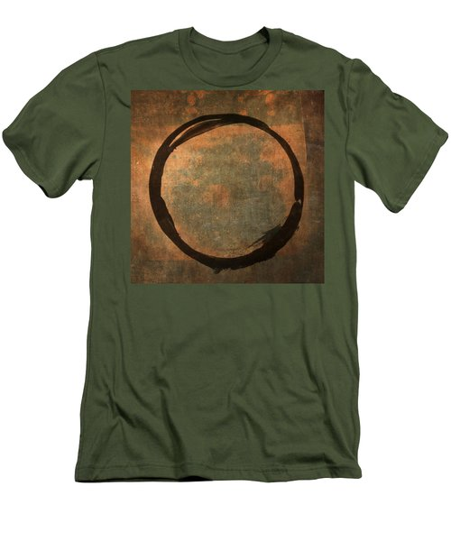 Brown Enso Men's T-Shirt (Athletic Fit)