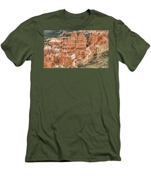 Bryce Canyon Men's T-Shirt (Slim Fit) by Geraldine Alexander