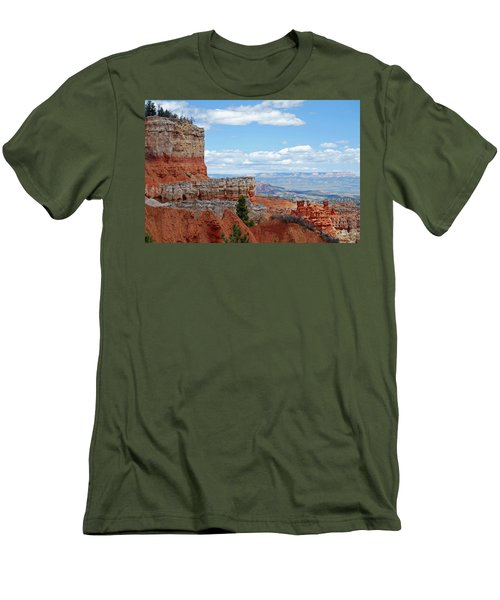Bryce Canyon Men's T-Shirt (Slim Fit) by Nancy Landry