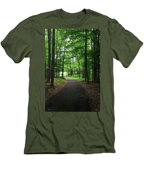 Buckner Farm Path Men's T-Shirt (Athletic Fit)
