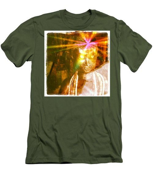 Buddha Light Men's T-Shirt (Athletic Fit)
