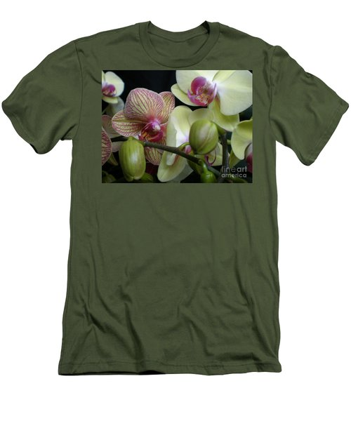 Budding Orchids  Men's T-Shirt (Athletic Fit)