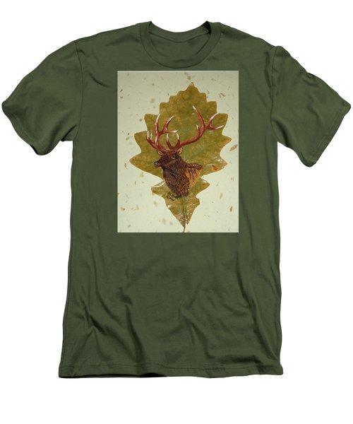 Bull Elk Men's T-Shirt (Slim Fit) by Ralph Root