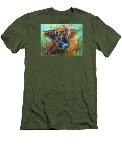 Bull Men's T-Shirt (Slim Fit) by Jieming Wang