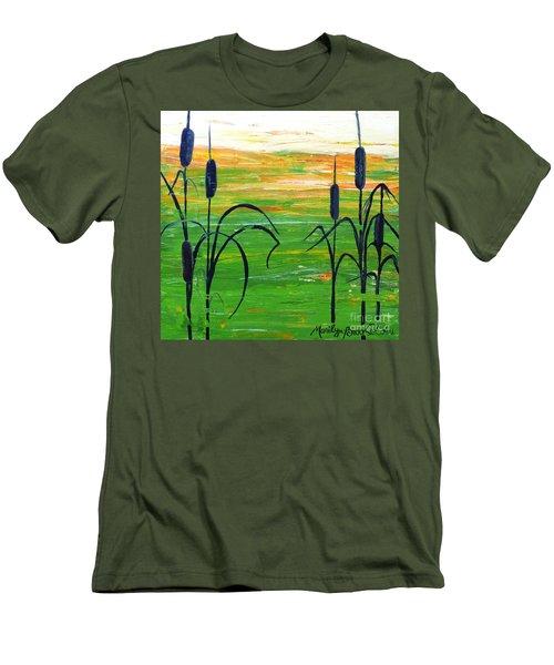 Bullrushes Men's T-Shirt (Athletic Fit)