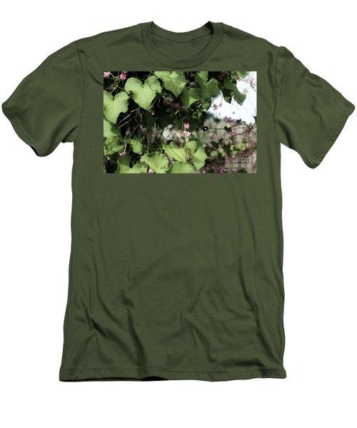 Men's T-Shirt (Athletic Fit) featuring the photograph Bumble Bum by Megan Dirsa-DuBois