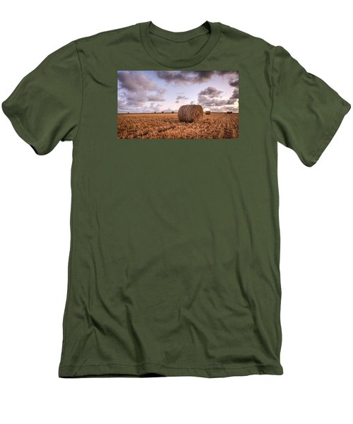 Bundy Hay Bales #3 Men's T-Shirt (Athletic Fit)