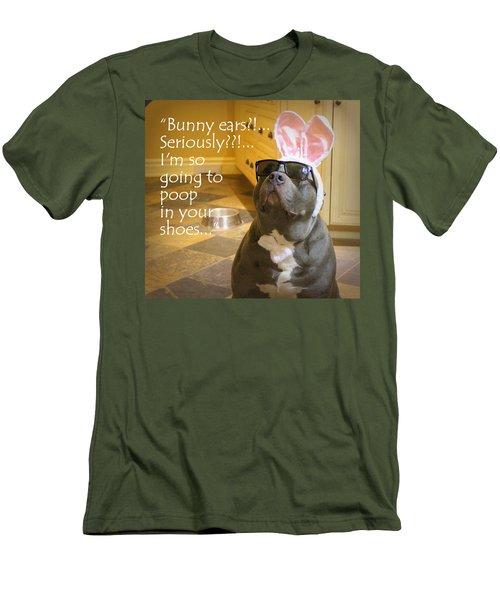 Bunny Ears? Men's T-Shirt (Athletic Fit)