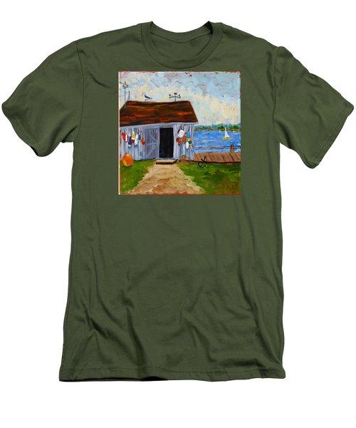 Buoys Will Be Buoys Men's T-Shirt (Slim Fit) by Diane Arlitt