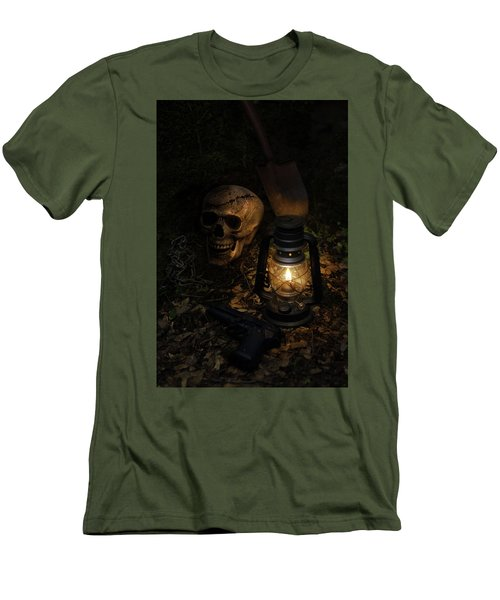 Buried Men's T-Shirt (Athletic Fit)