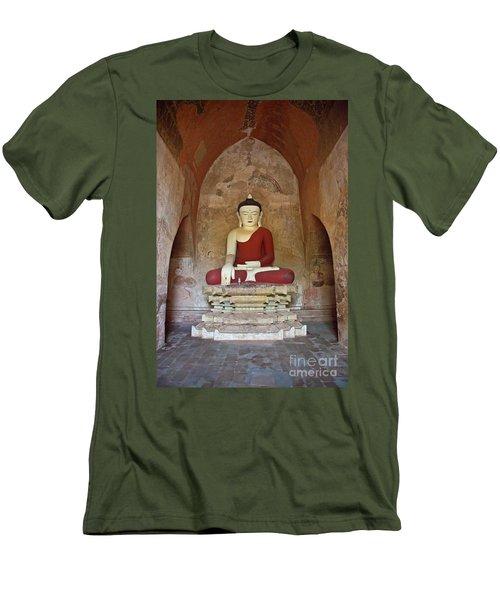 Burma_d2078 Men's T-Shirt (Slim Fit) by Craig Lovell