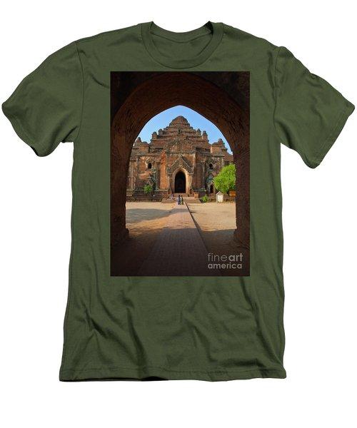 Burma_d2095 Men's T-Shirt (Slim Fit) by Craig Lovell