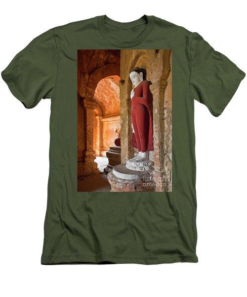 Men's T-Shirt (Slim Fit) featuring the photograph Burma_d2280 by Craig Lovell
