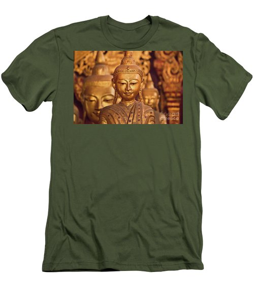 Burma_d579 Men's T-Shirt (Slim Fit) by Craig Lovell