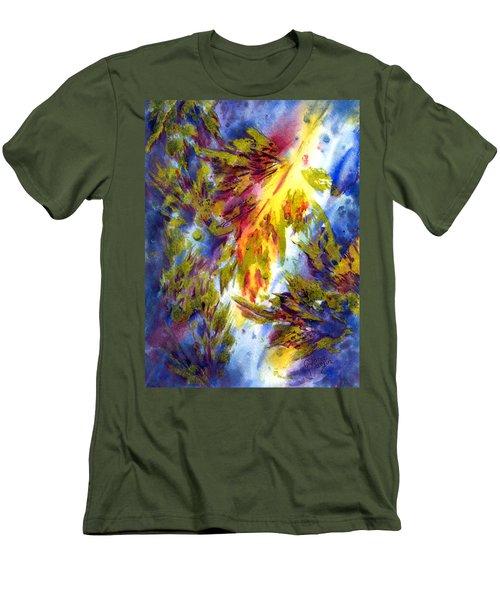 Burst Of Fall Men's T-Shirt (Athletic Fit)