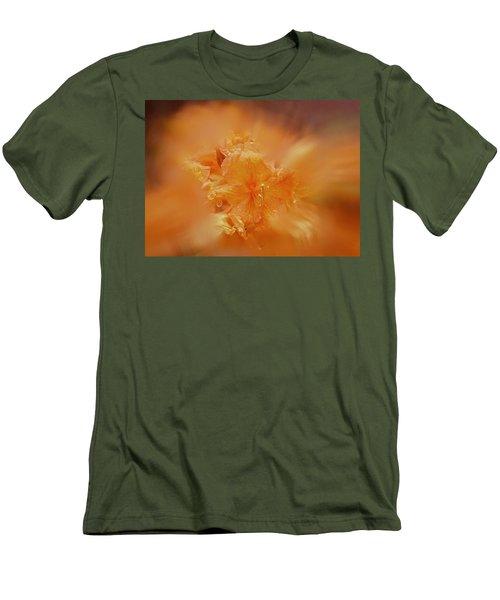 Burst Of Gold Men's T-Shirt (Slim Fit) by Richard Cummings