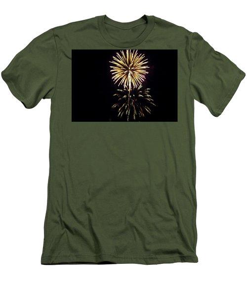 Men's T-Shirt (Slim Fit) featuring the photograph Burst by Tara Lynn
