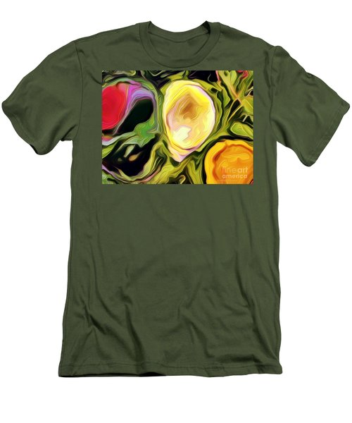 Three Sisters Men's T-Shirt (Slim Fit) by Kathie Chicoine