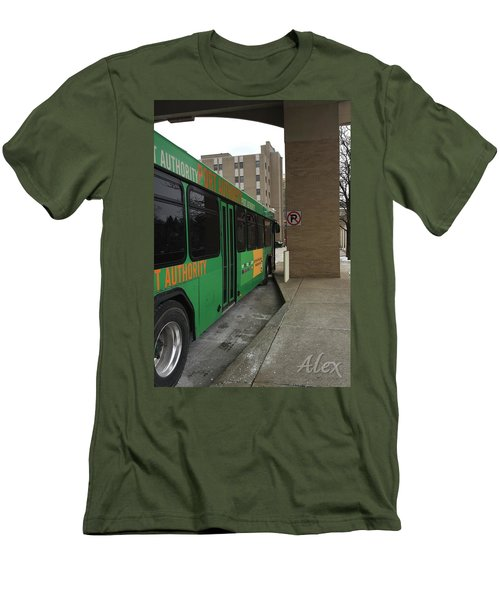 Bus Stop Men's T-Shirt (Slim Fit)