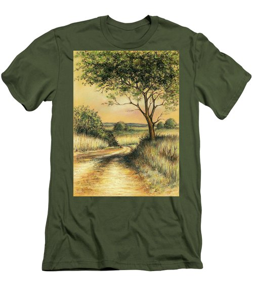 Bushveld Men's T-Shirt (Slim Fit) by Heidi Kriel