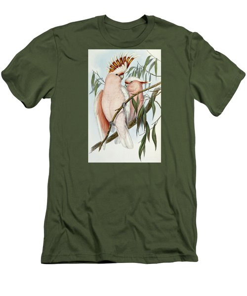 Cacatua Leadbeateri Men's T-Shirt (Slim Fit) by John Gould
