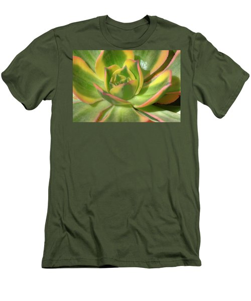 Men's T-Shirt (Slim Fit) featuring the photograph Cactus 4 by Jim and Emily Bush