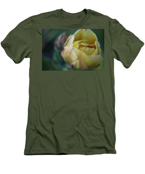 Men's T-Shirt (Athletic Fit) featuring the photograph Cactus Beauty by Amee Cave
