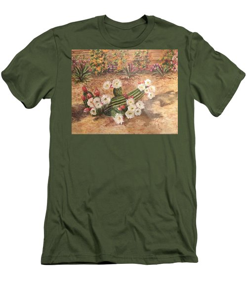 Cactus Garden Men's T-Shirt (Athletic Fit)