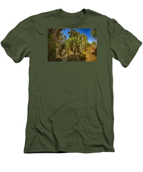 Cactus Jungle Men's T-Shirt (Athletic Fit)