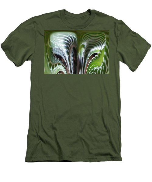 Cactus Predator Men's T-Shirt (Slim Fit) by Barbara Griffin