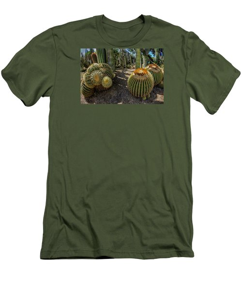 Cactus Shapes Men's T-Shirt (Athletic Fit)