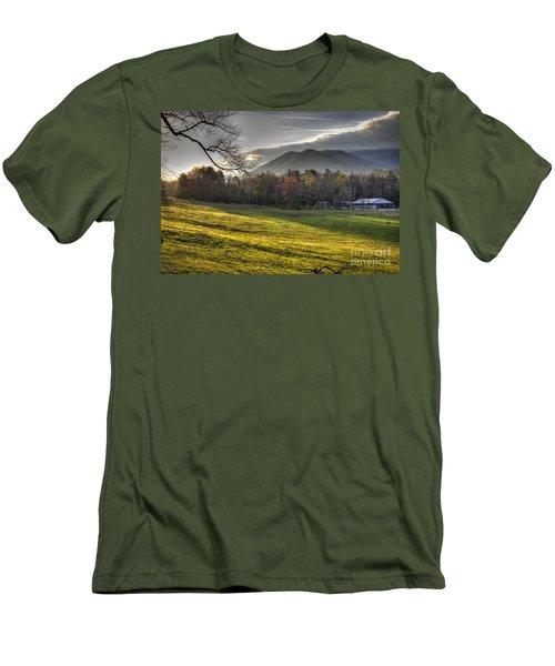 Cades Cove, Spring 2016,ii Men's T-Shirt (Slim Fit) by Douglas Stucky