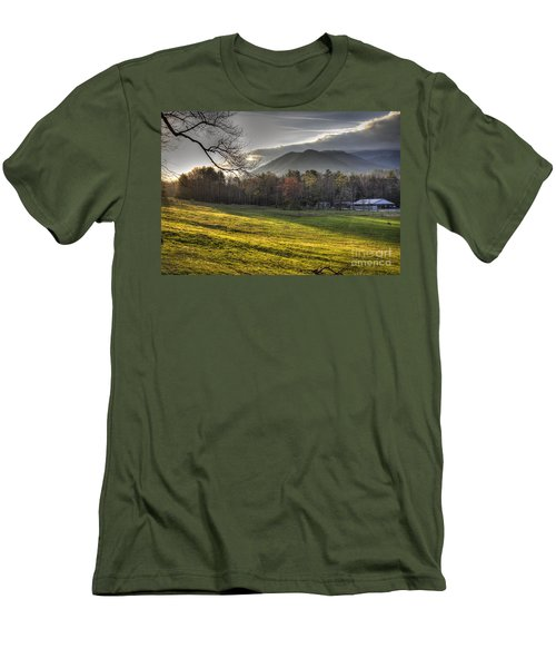Cades Cove, Spring 2016,ii Men's T-Shirt (Athletic Fit)