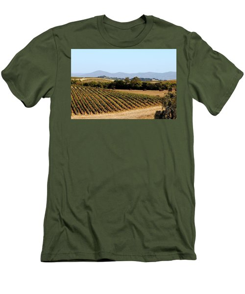 California Vineyards Men's T-Shirt (Athletic Fit)
