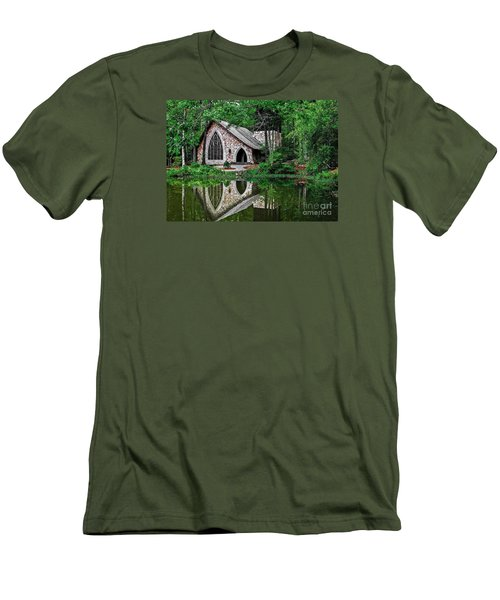 Callaway Gardens Ida Cason Chapel Men's T-Shirt (Athletic Fit)