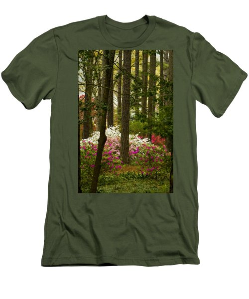 Callaway Gardens Spring Azaleas Men's T-Shirt (Athletic Fit)