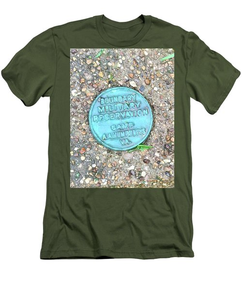 Camp A.a. Humphreys Men's T-Shirt (Athletic Fit)