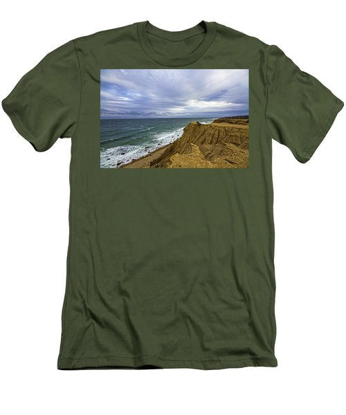 Camp Hero Bluffs Men's T-Shirt (Athletic Fit)