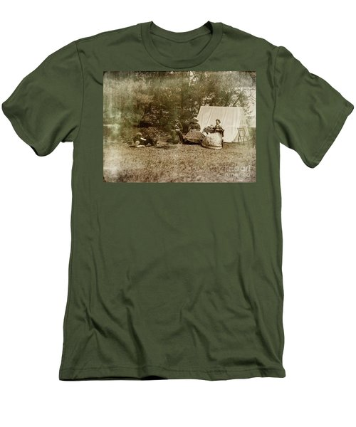 Camp Life Men's T-Shirt (Slim Fit) by Randall Cogle