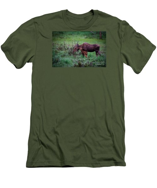 Men's T-Shirt (Slim Fit) featuring the photograph Can You Keep A Secret by Sandy Molinaro
