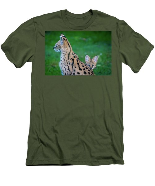 Can You See Me? Men's T-Shirt (Slim Fit) by Rainer Kersten