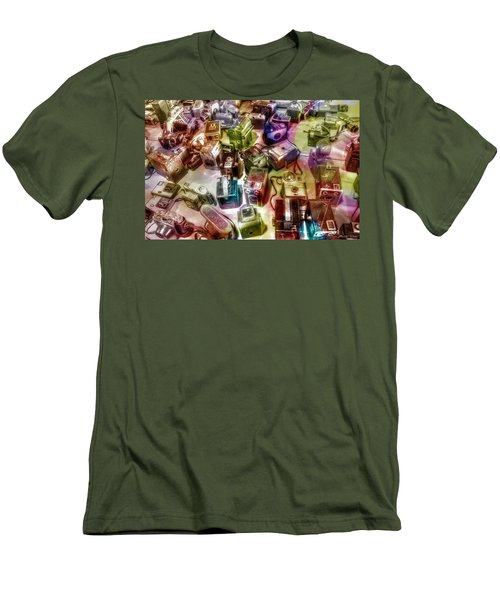 Men's T-Shirt (Slim Fit) featuring the photograph Candy Camera by Michaela Preston