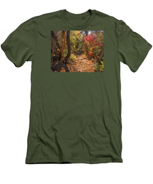 Cape Cod Path Men's T-Shirt (Athletic Fit)